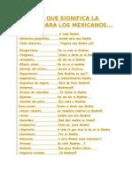 Todo Lo Que Significa La Madre Para Los Mexicanos