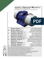 Manual Venanzetti (Modelo Nuestro Vv81b6)