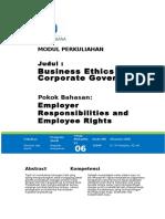Text Modul 6 Tanggung Jawab Employer Hak Pekerja