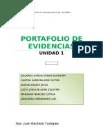 Portafolio de Evidencias Taller de Investigacion Unidad 1