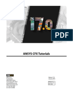 ANSYS CFX Tutorials r170