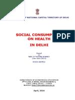 Social Consumption on Health in Delhi