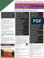 2015-10-12 Weekend Fall 2015