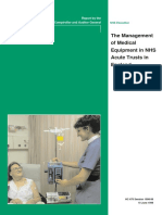 NAO - The Management of Medical Devices in NHS Acute Trusts in England