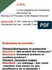 Présentation Stage Du 18 Mai 2016