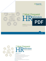 7 Most Frequent HR Mistakes and How to Avoid Them