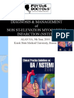 Diagnosis & Management of Nstemi