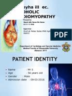 Chf Nyha III Ec. Alcoholic Cardiomyopathy