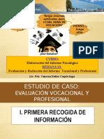 Caso Evaluación Vocacional y Profesional