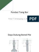 Pondasi Tiang-2 (Tiang Bor)