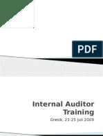 1. Materi Training Internal Audit