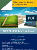 FIN 571 NERD Learn by Doing - Fin571nerd.com