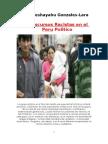 El Discurso Racista en El Peru Politico