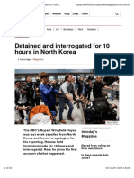 Detained and Interrogated
