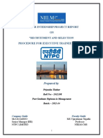 Final Report on Sip Project of NTPC