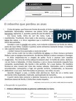 Ficha de Avaliação Diagnóstica - 4º Ano PORT II