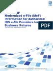 Modernized e-File (MeF)