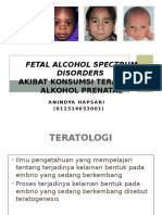 FETAL ALCOHOL SPECTRUM-embrio