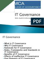 BAA AIS IT Governance