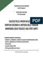 Calcolo Delle Unioni Bullonate - UNIBG