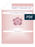 anxiety art therapy for kids resource package