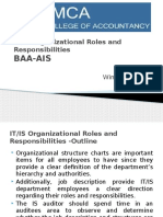 BAA-AIS-Organizational Roles and Responsibilities
