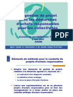 Gestion Projet Achats Collectivites