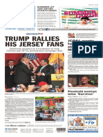 Asbury Park Press front page, 5/20/16