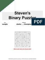 Binary Puzzles Sample