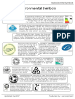 Guidance on Environmental Symbols