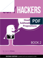 Headlines Subheads and Value Propositions COPY HACKERS 2nd Edition for 2014