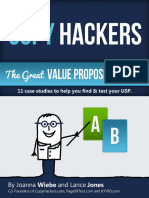 The Great Value Proposition Test COPY HACKERS