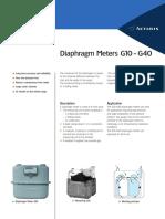 Daiphrgm Metre G10&G20