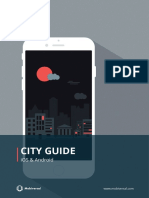 How much does it cost to build a city guide app?