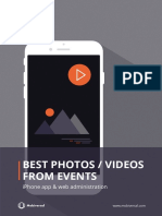 How much does it cost to build an app that lets you vote the best photos from an event?