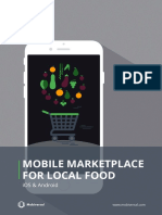 How much does it cost to build an app that brings together consumers and local food producers?