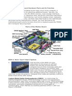 Identifying Motherboard Hardware Parts and Its Function