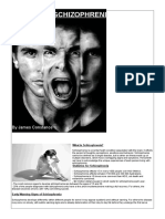 Schizophrenia Magazine - James Constance