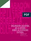 Declaracion Universal Sobre Diversidad Cultural