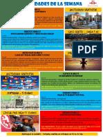 Actividades de la Escuela de Español 23 - 29 Mayo