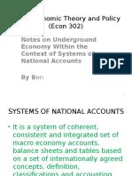 GDP and Underground Economy