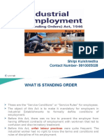 Industrial Employment (Standing Orders) Act, 1946.pptx