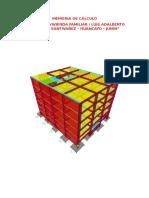 Memoria de Calculo Estructuras - Proyecto Vivienda