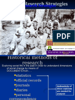 Methods of Research Chapter 9 Historical Research Methodologies