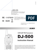 Dj500te New Manual