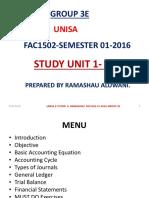 FAC1502 Control Accounts Notes