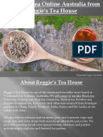 Buy Black Tea Online Australia From Reggies Tea House