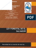 Ley Forestal de El Salvador