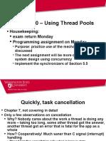 Thread Pools