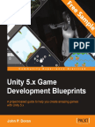 Unity 5.x Game Development Blueprints - Sample Chapter